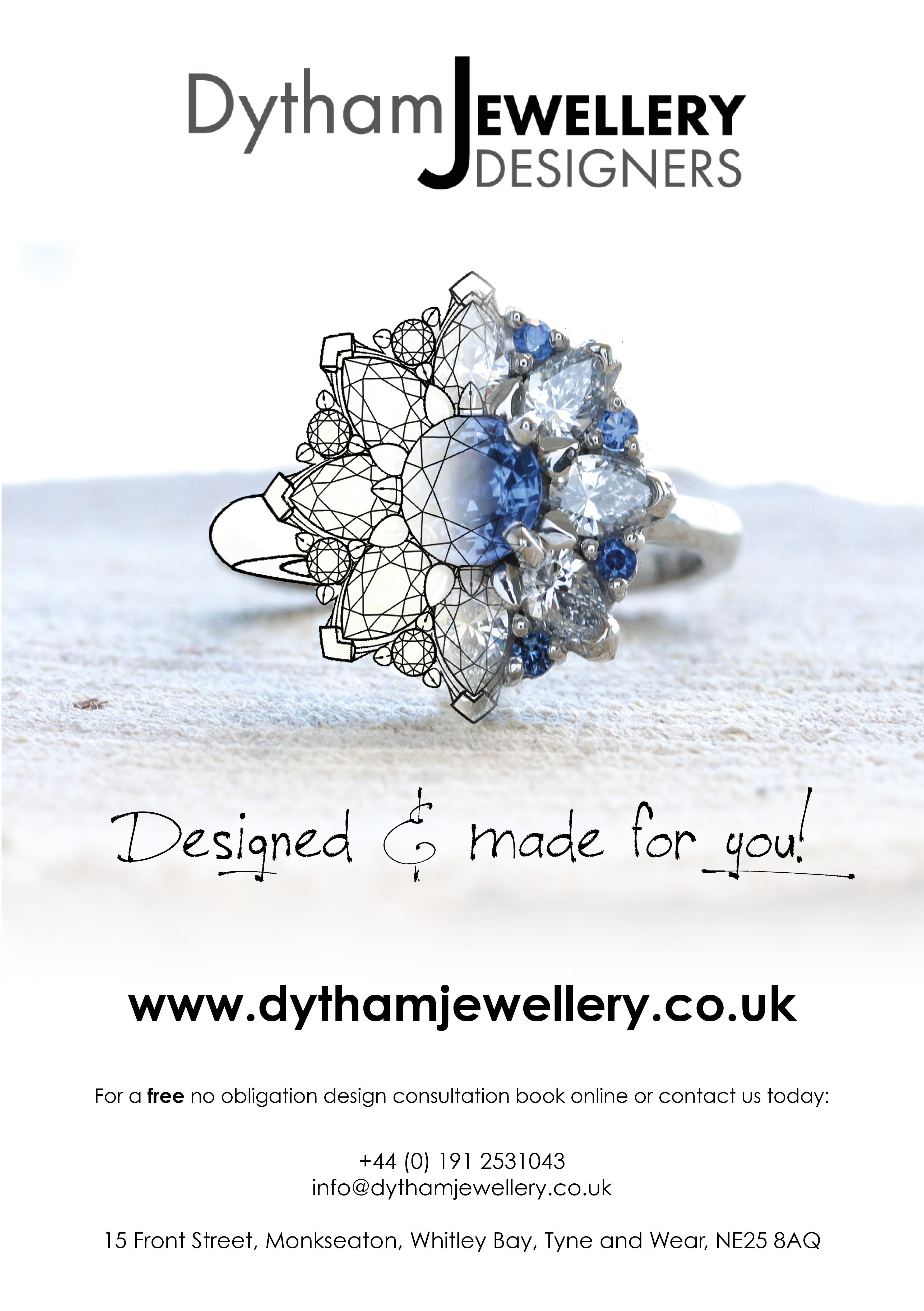 Dytham Jewellery Designers programme advert 2017