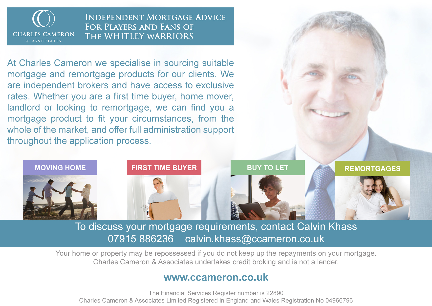 Charles Cameron and Associates programme advert 2017