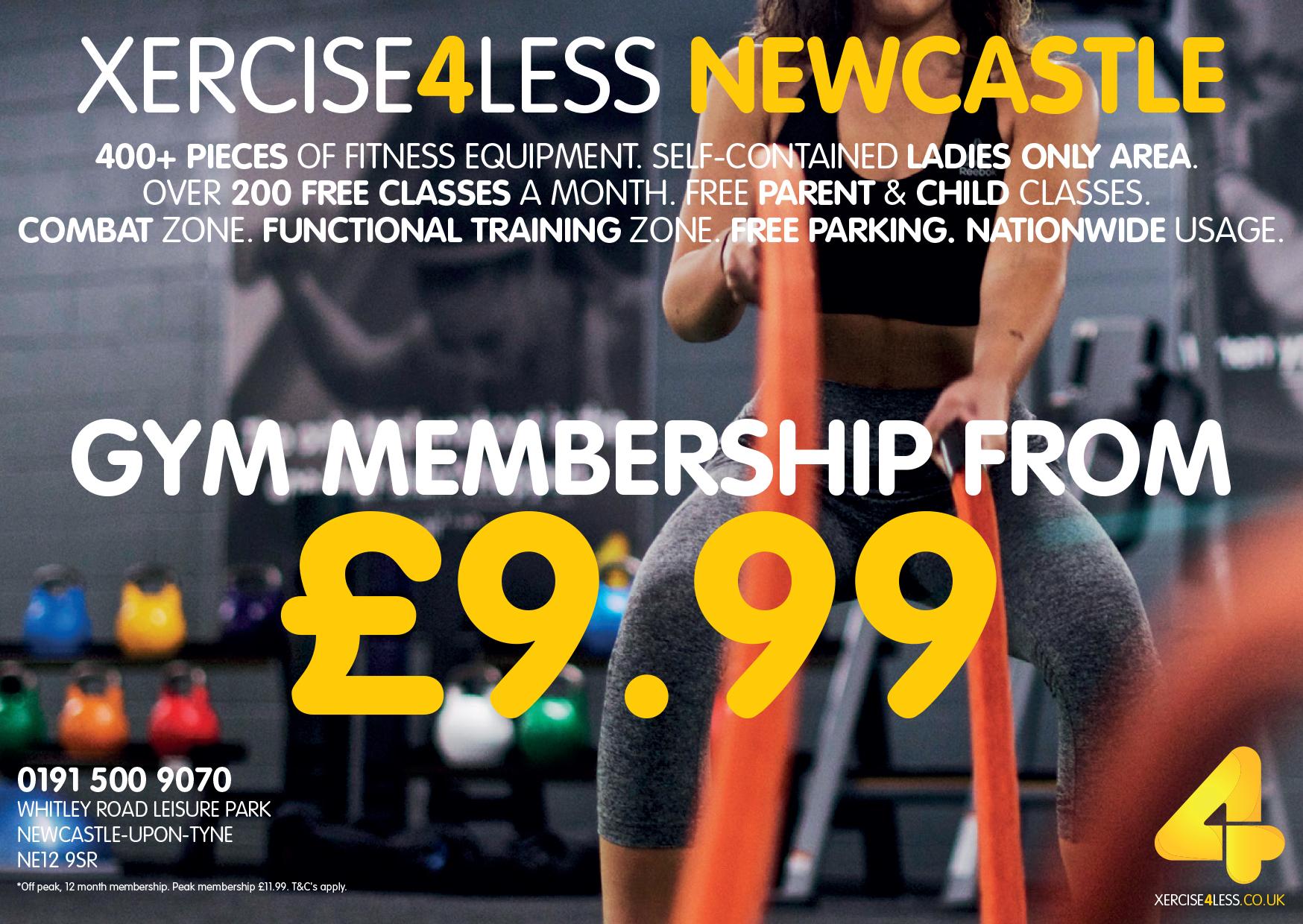 Xercise4Less programme advert 2017