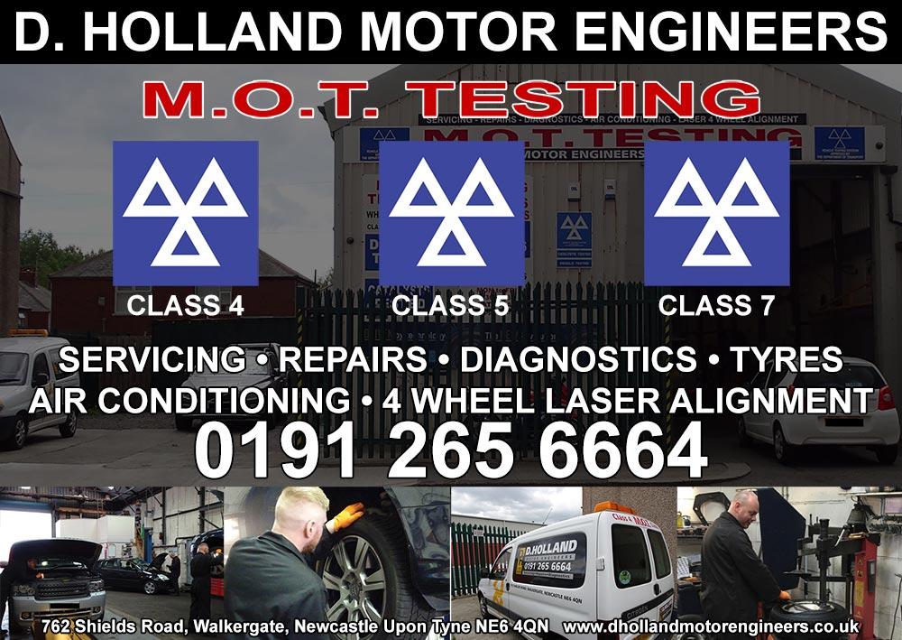 D Holland Motor Engineers programme advert 2017