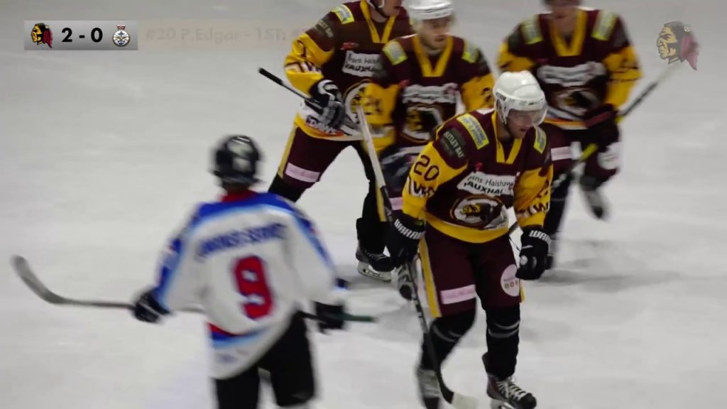 Whitley Warriors vs UK Armed Forces Ice Hockey – highlights