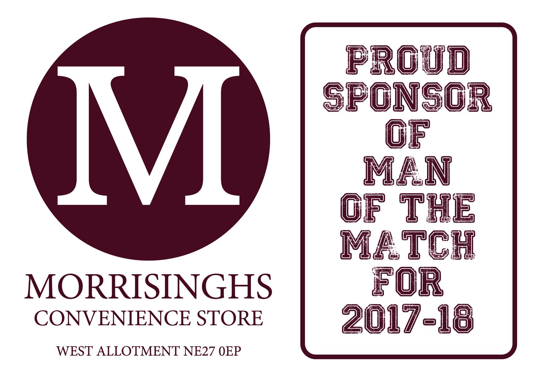 Morrisinghs programme advert 2017