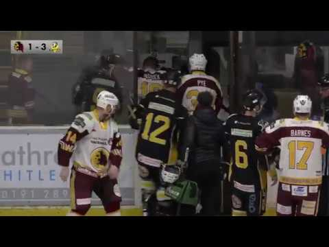 Whitley Warriors vs Nottingham Lions 11 November 2017 highlights