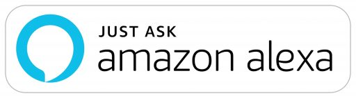 Just Ask Amazon Alexa badge
