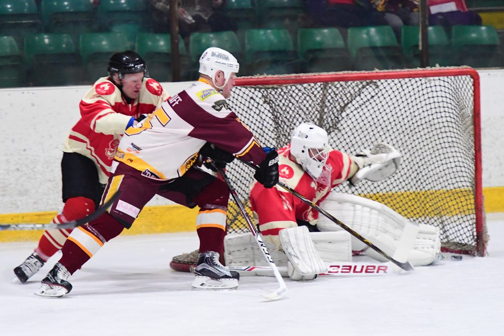 David Longstaff scores against Billingham Stars