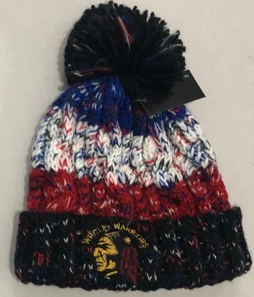 Whitley Warriors Wool/Fleece Bobble Hat