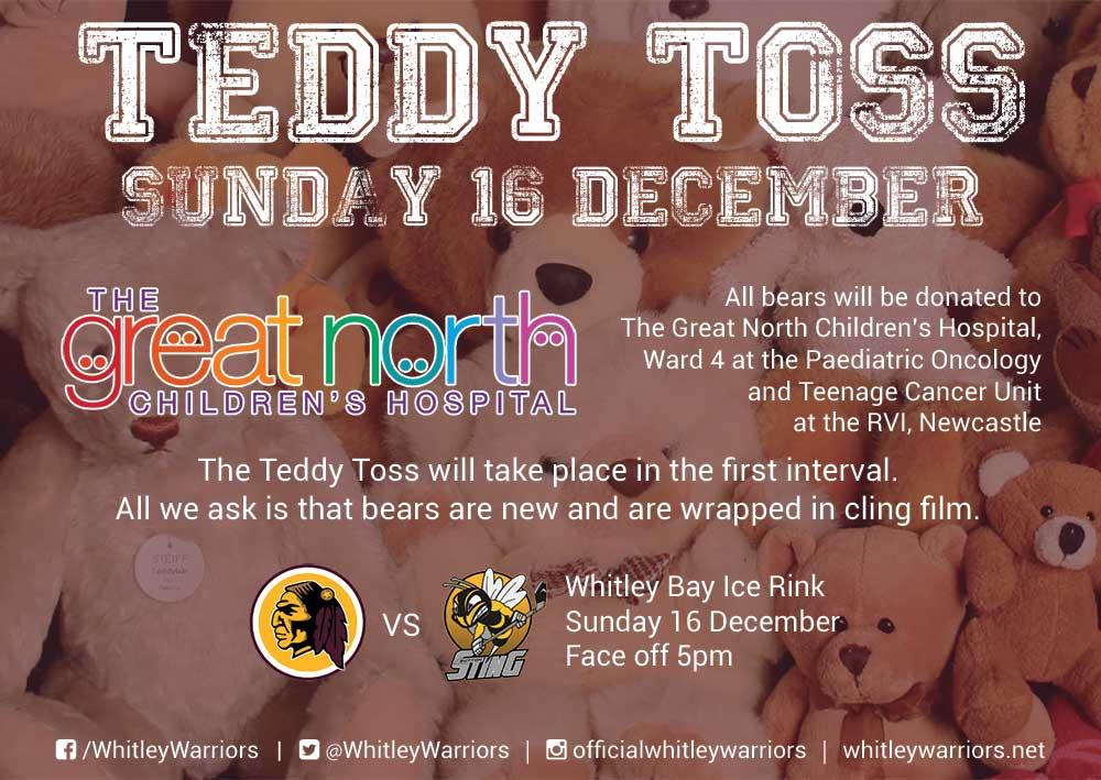 Teddy Toss 2018 poster