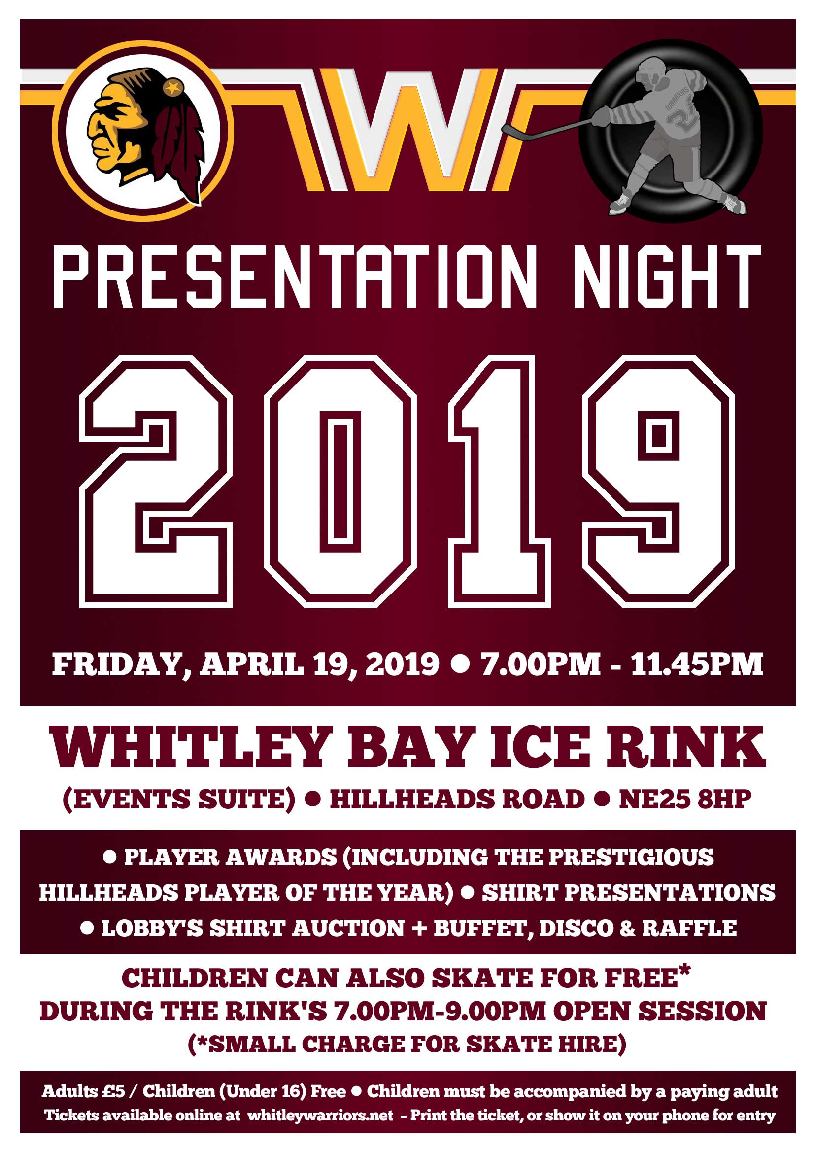 Presentation Night 2019 - Friday 19 April 2019
