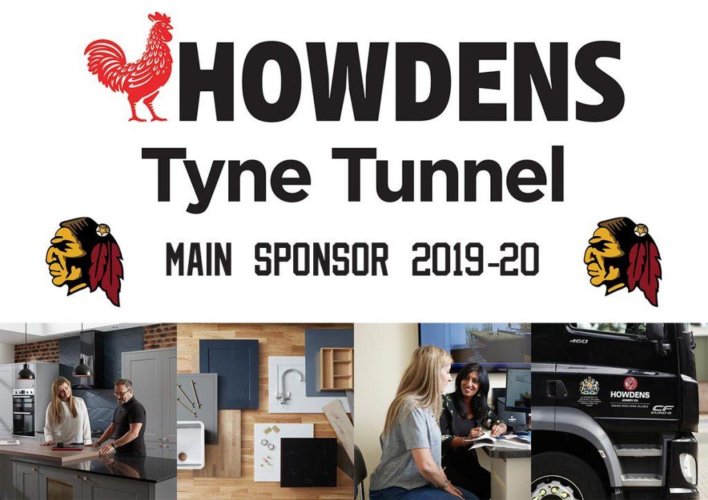 Howdens - main sponsor for 2019-20