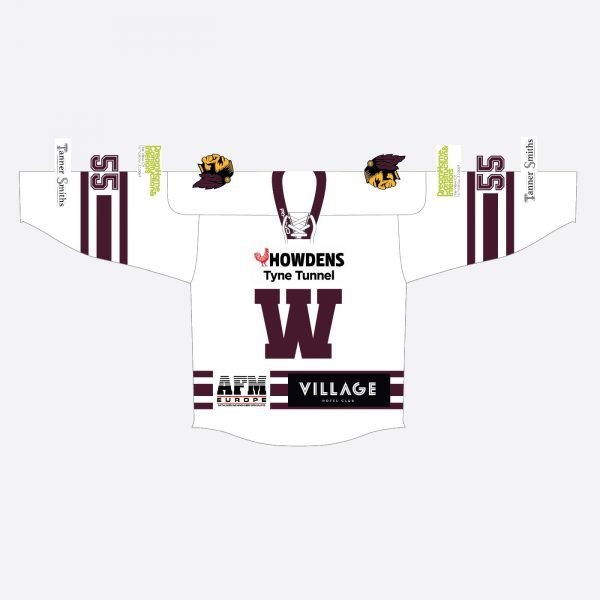 2019-20 white shirt - front