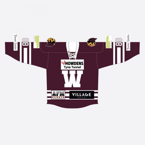2019-20 maroon shirt - front