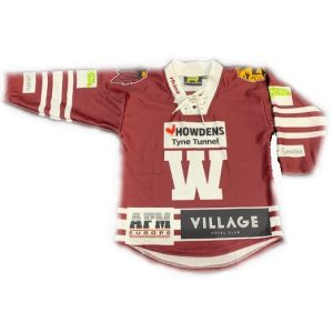 Whitley Warriors replica shirt 2019-20