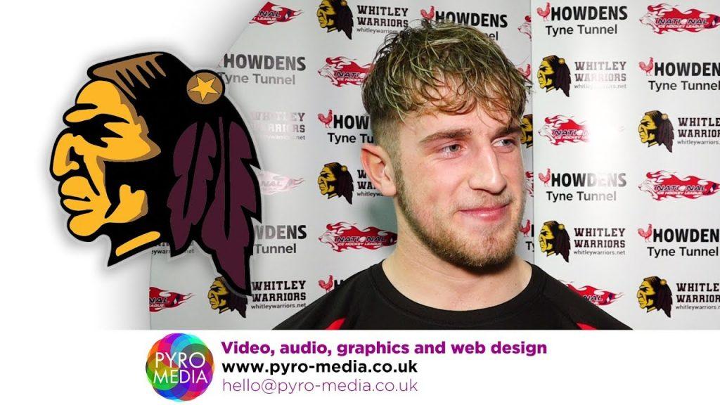 INTERVIEW: Adam Finlinson (10-11-19 – Racers) – Whitley Warriors TV