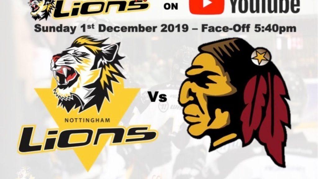 VIDEO: Nottingham Lions vs Whitley Warriors (01-12-2019) – Lions TV