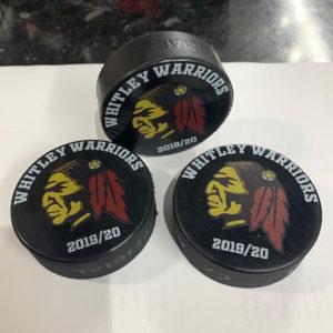 Whitley Warriors Ice Hockey Puck 2019-20