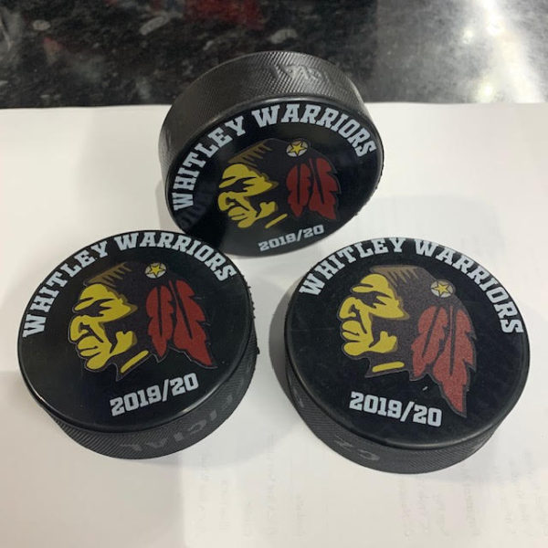 Whitley Warriors Ice Hockey Puck 2019-20