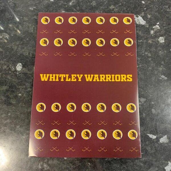 Warriors notebook