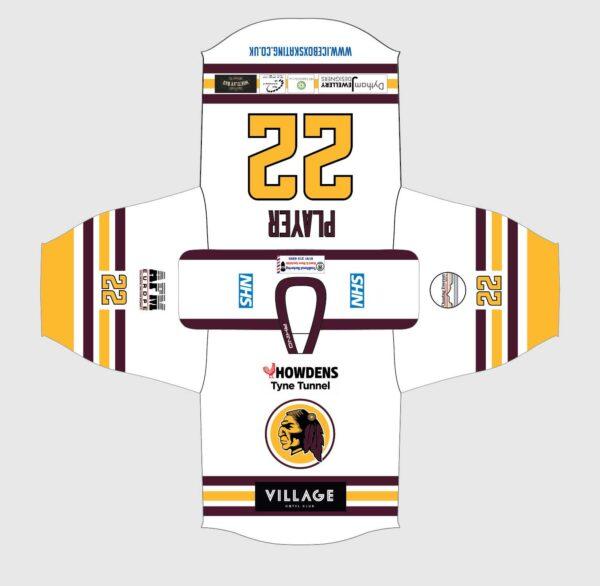 2021-22 shirt design - white