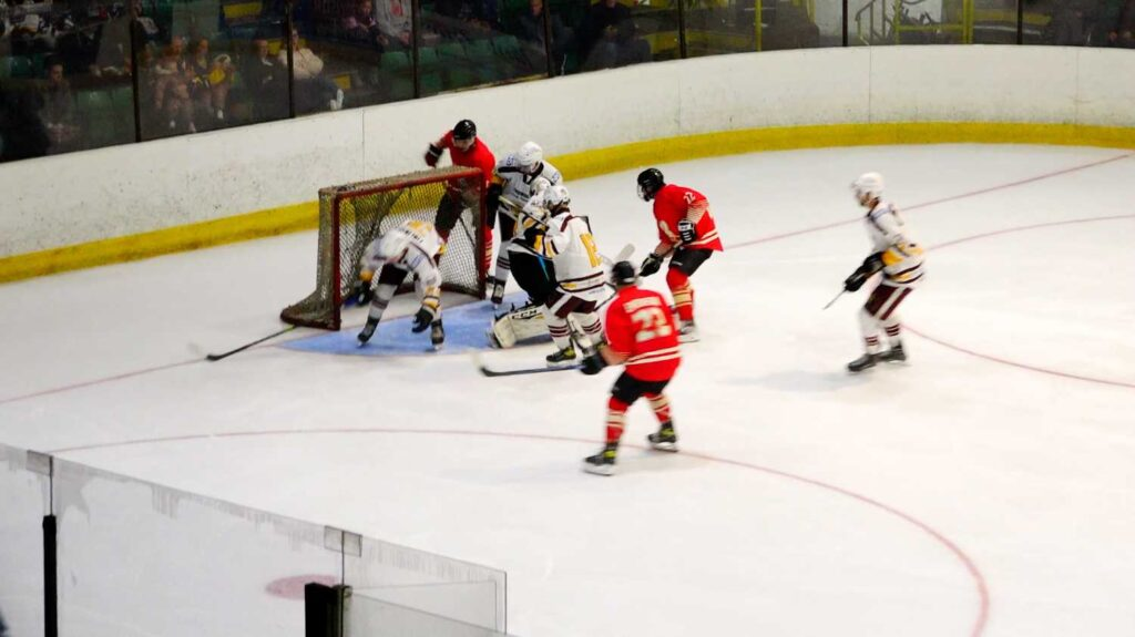 Billingham's Jack Emerson finds the target. Photo by Pyro-Media.