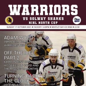 17-10-2021 Warriors vs Sharks programme cover