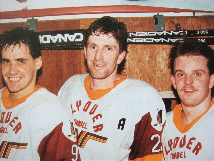 Luc Chabot, Mike Babcock, Scott Morrison